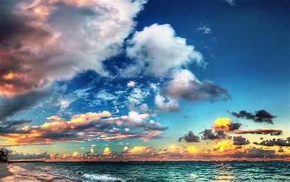 Beach Sunset Desktop Resolutions Wide