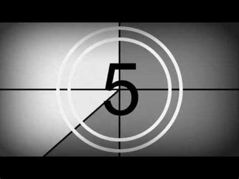film leader countdown youtube