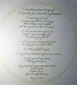 biblical wedding vows wedding vows invitesweddings