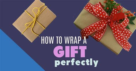 How To Wrap A Gift  Easy To Follow Stepbystep Tutorial