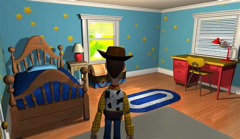 Andy's Room For Toy Story