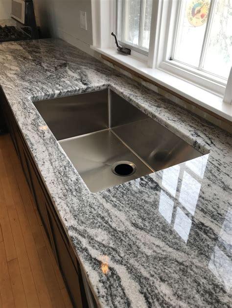 viscon white granite kraus  sink white granite