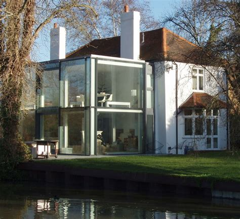 house  canal  modern extension  david hawgood