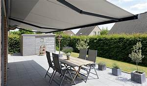 Store Banne Store Pour Une Terrasse Ombrage Brustor