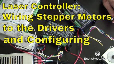 wire stepper motors  motor drivers  laser