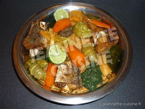 jeannette cuisine tiep bou dienn riz au poisson plat africain