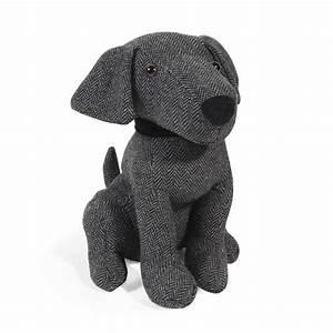 Cale Porte Tissu : cale porte chien en tissu h 28 cm mylo maisons du monde ~ Teatrodelosmanantiales.com Idées de Décoration