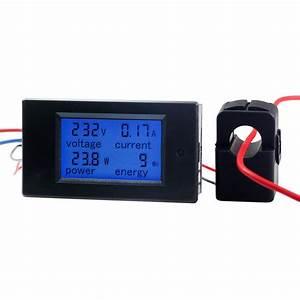 Watt Volt Ampere : 100a ac digital power kwh watt meter volt amp voltmeter ~ A.2002-acura-tl-radio.info Haus und Dekorationen