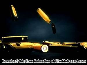 Bullet Shells Falling Animation Free - YouTube