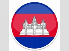 Cambodia Icon Round World Flags Iconset Custom Icon Design