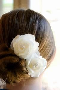 Wedding Hair Accessory Ivory Wedding Hair Flowers