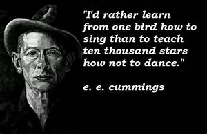 E. E. Cummings ... Nic Cummings Quotes
