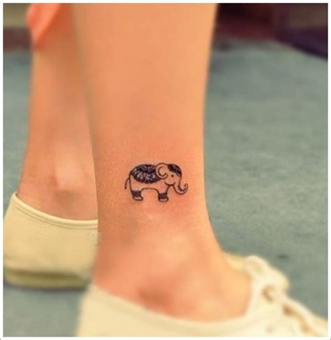 powerful elephant tattoo designs  meaning