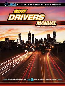 Georgia Drivers Manual  U2013 2017