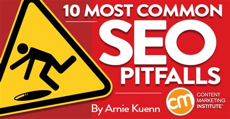 10 Common Resume Pitfalls To Avoid by 10 Most Common Seo Pitfalls Best Practices Keywords