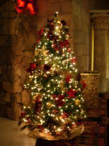 christmas trees decorated free large images