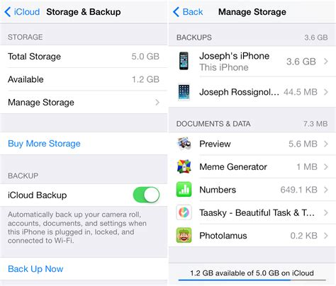 how to backup icloud on iphone 6 how to delete icloud backups on iphone