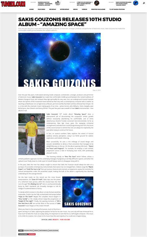 Sakis Gouzonis  Beautiful Instrumental Electronic Music