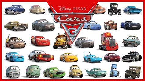 cars characters cars disney characters names www imgkid com the image