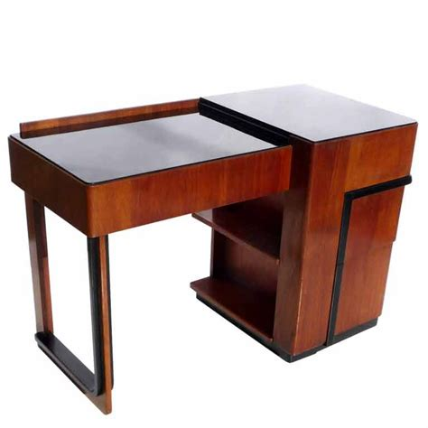 art desks for sale streamlined art deco desk with expanding top for sale at