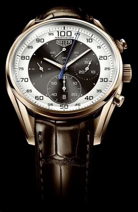 tag heuer watches first look carrera mikrograph avant garde the home of