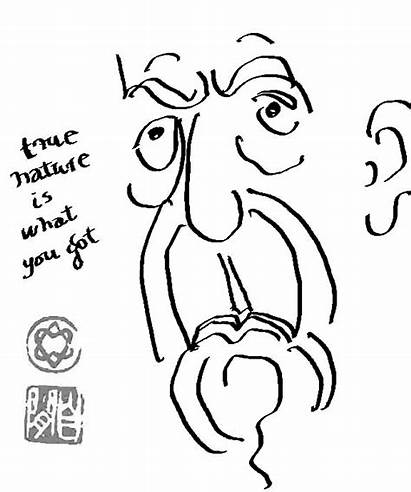 Leonard Cohen Face Portrait Self Words Plus