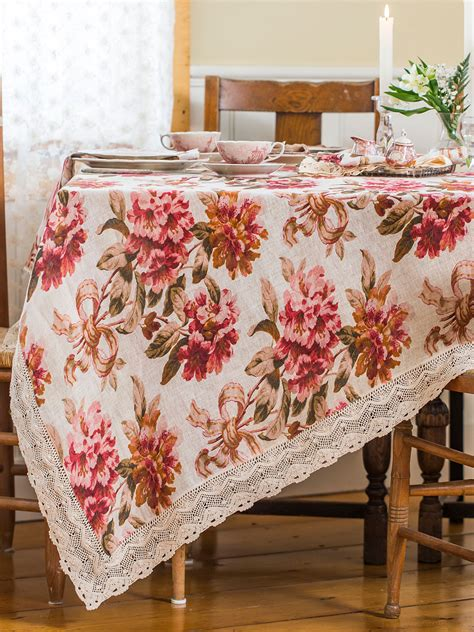carolina linen tablecloth kitchen table linens tablecloths designs by april cornell