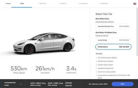View How Much Does A Tesla 3 Performance Model Cost Pictures