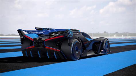 Bugatti 2020 f1 concept car by sean bull grand prix 247. 2020 Bugatti Bolide Concept Wallpapers   Supercars.net