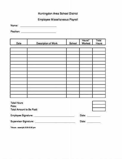 Sheet Payroll Miscellaneous Pdf Business