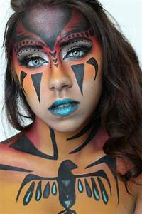 tribal makeup - Google Search | Drawing help | Pinterest ...