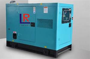15kva Silent Diesel Generator Soundproof Canopy With