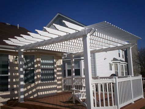 pergolas  stylish functionality st louis decks