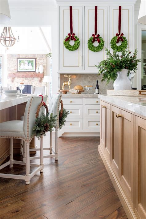 On top of that, look into kitchen trends 2021 usa. 5 Top Picks for Wreaths on Kitchen Cabinets | BlueGrayGal