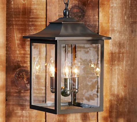 pottery barn light fixtures classic indoor outdoor pendant pottery barn