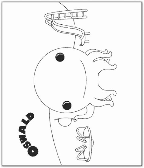 Octopus Kleurplaat by Gratis Oswald The Octopus Kleurplaten Voor Kinderen 4