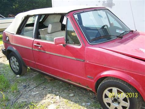 buy car manuals 1988 volkswagen cabriolet spare parts catalogs buy used 1986 red volkswagen cabriolet convertible 2 door 1 8l parts repair alloy wheels in