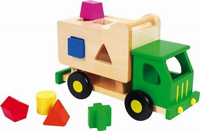 Toy Toys Transparent Truck Wooden Garbage Discoveroo