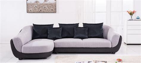 canapé tissu d angle canapé d 39 angle gauche tissu gris colorado