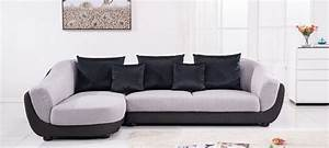 canape d39angle gauche tissu gris colorado With canapé d angle gauche en tissu