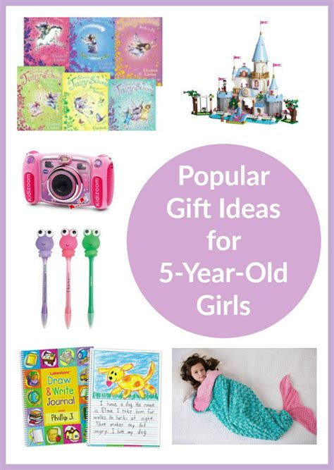 Gift Ideas For 5yearold Girls