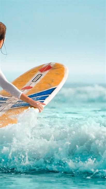 Iphone Wallpapers Surfer Surfing Hawaii Surfboard Water