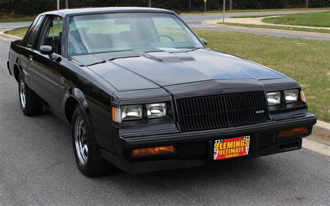 Buick Grand National 1987 by 1987 Buick Regal Grand National For Sale 84643 Mcg