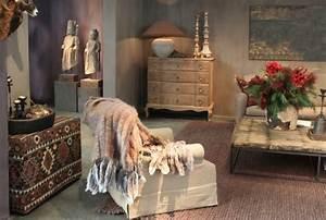 comment obtenir une decoration ethnique actualites seloger With tapis ethnique avec prix canapé monsieur meuble