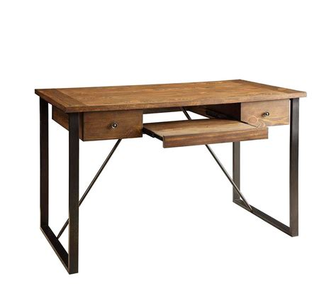 desk with keyboard drawer industrial style desk with keyboard drawer co 200 desks