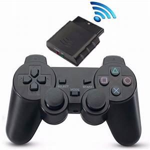 Controle Playstation 2 Sem Fio Wireless Barato Sfi R 30