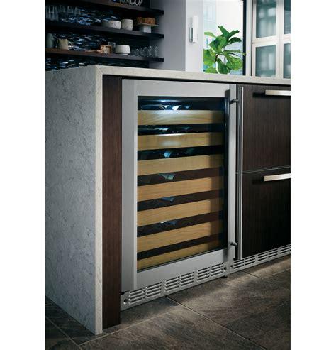 monogram stainless steel wine reserve zdwrhbs ge appliances
