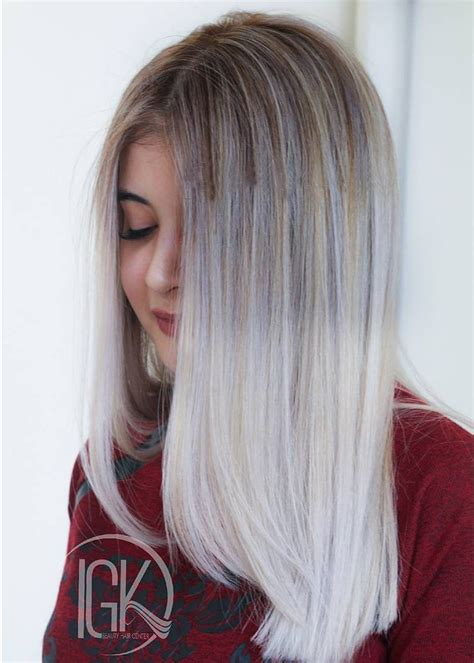 The Best Trending Grey Ombre Hair Ideas 2017 Grey Hair