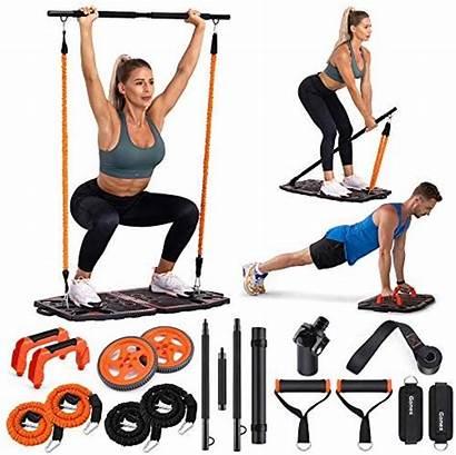 Gym Portable Equipment Workout Gonex Exercise Resistance