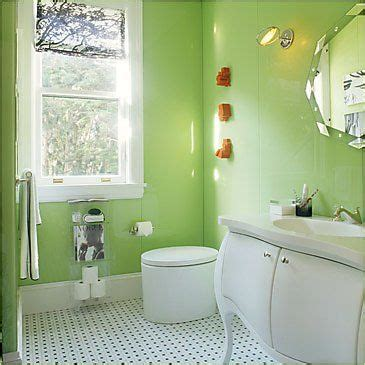 Green Color Bathroom by Green Bathroom With Modern And Cool Design Ideas